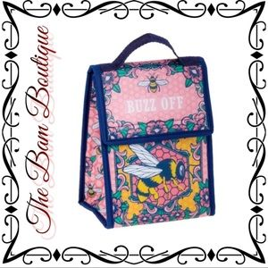 """""""Buzz Off"""" Insulated Lunch Tote"""